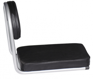 מושב אחורי לאופניים מרופד עם משענת גב
